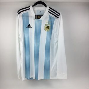 Adidas Argentina Home Jersey Long Sleeves/ L